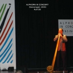 Alphorn in Concert 2003