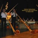 Alphorn in Concert 2002