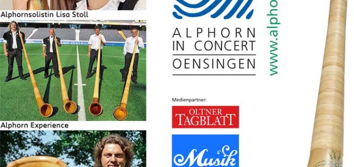 ALPHORN IN CONCERT 2013 - Alphornklänge in vielfältigen Facetten und unterschiedlichsten Stilrichtungen!