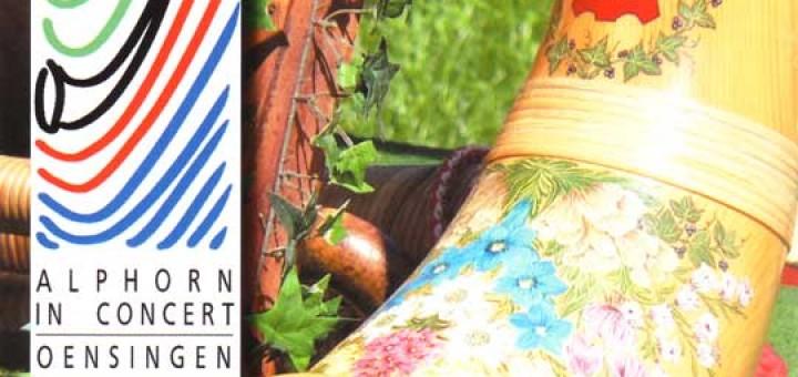 """""""Alphorn A LA CARTE"""" (2008) Vol. VI: Vorderseite"""