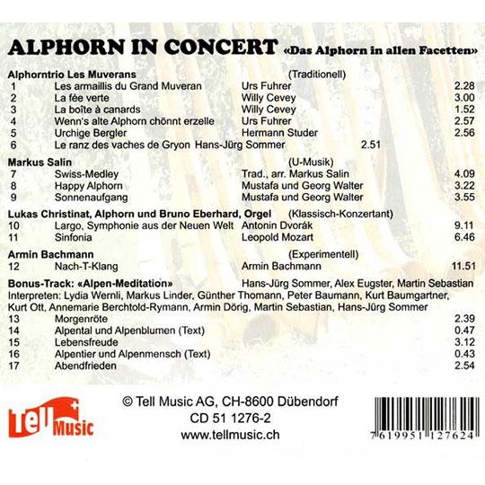 Das Alphorn in allen Facetten (2004) Vol. II: Rückseite