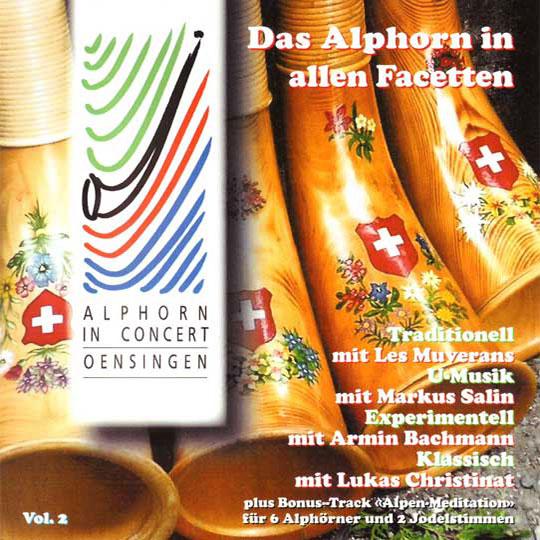 Das Alphorn in allen Facetten (2004) Vol. II: Vorderseite