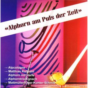 Alphorn am Puls der Zeit (2007) Vol. V: Vorderseite